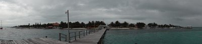 Panorama of Caye Caulker
