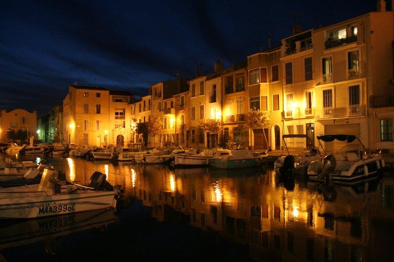 Martigues - L'île de nuit