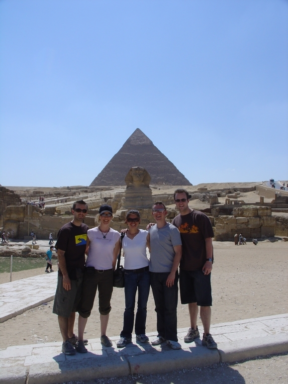 Friends in Egypt