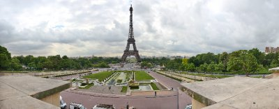 Eiffel Tower Pano