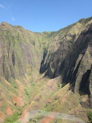 Na Pali Coastline - A sacred site for Hawaiians