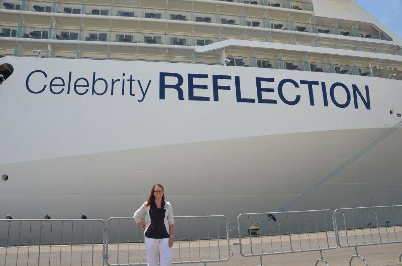 Celebrity Reflection Embarkation