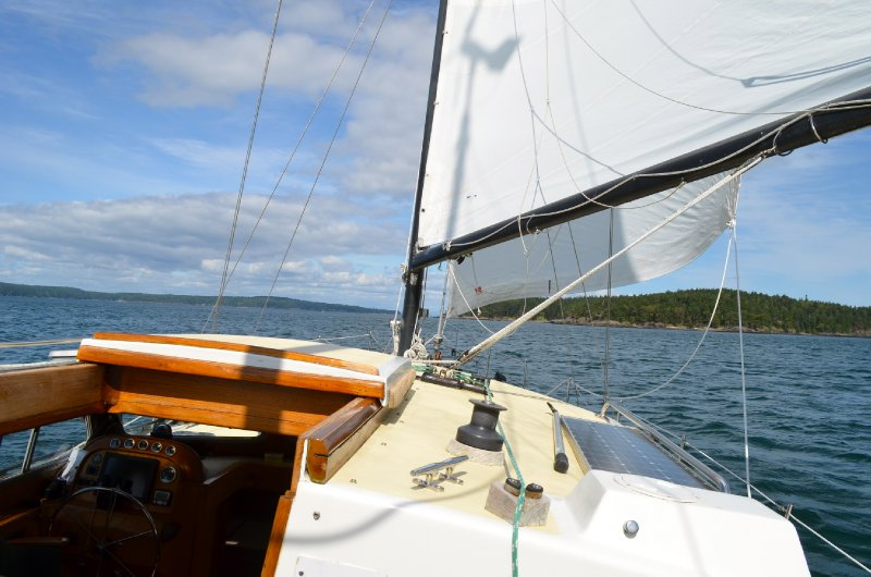 Sailing around the San Juan Islands