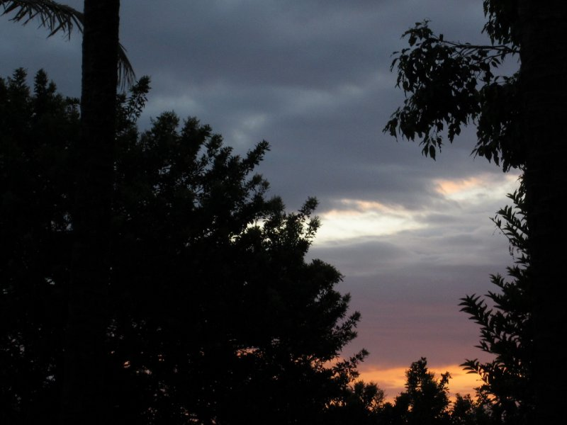 First Hawaiian Sunrise from our Lanai