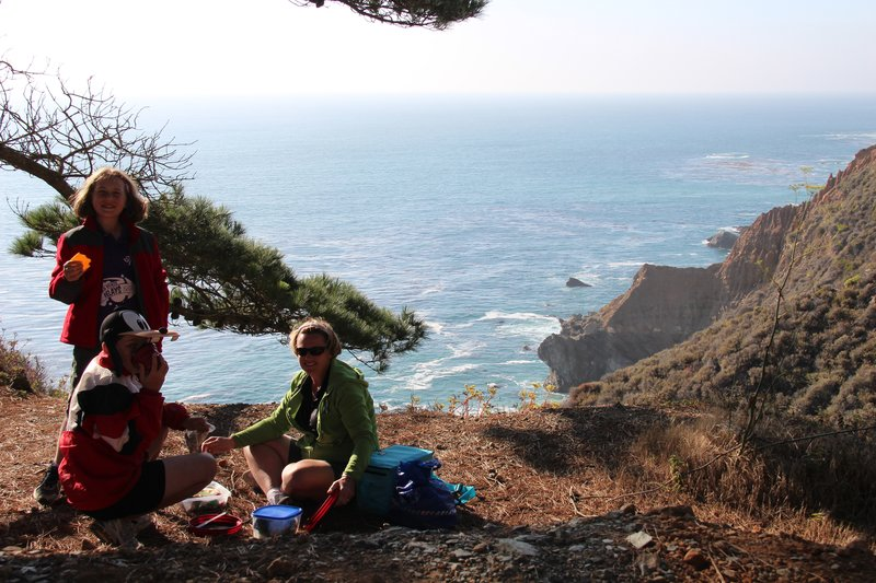 Picnic on the cliffs