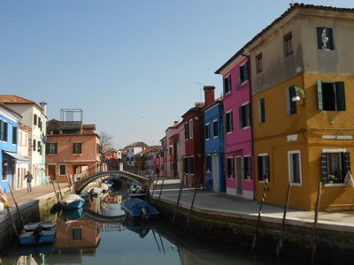 Pastels in Burano