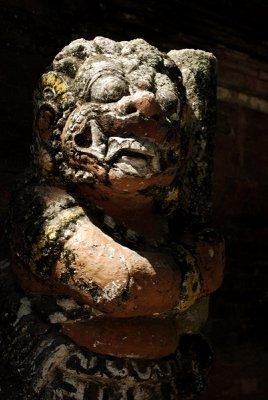 sacred figure - temple - lombok