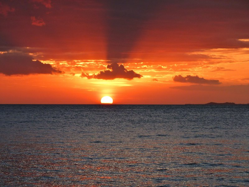 The most amazing sunset...