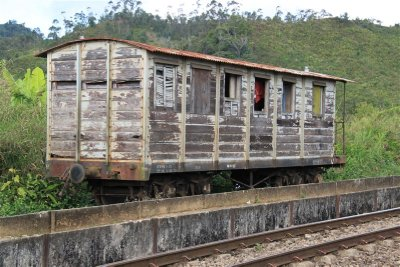 Old wagon converted into House