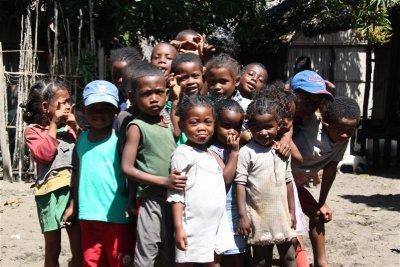 Kids from Andranokoditra