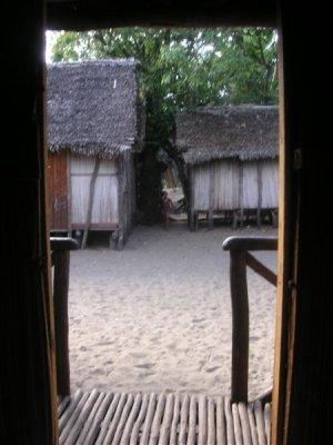 View from my room in Andranokoditra (chez l habitant)