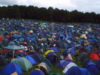 Leeds Festival Camp Site 2004