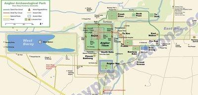 Angkor Wat Map 1