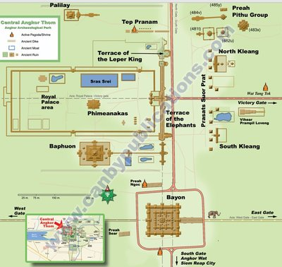 Angkor Wat Map 2