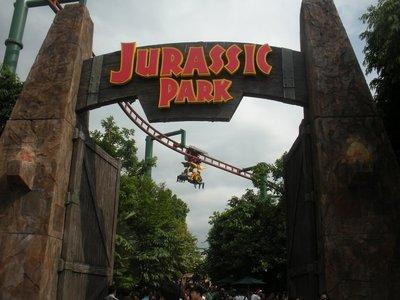 Jurassic Park Ride at Universal