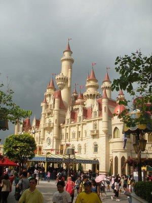 Universal Studios Castle