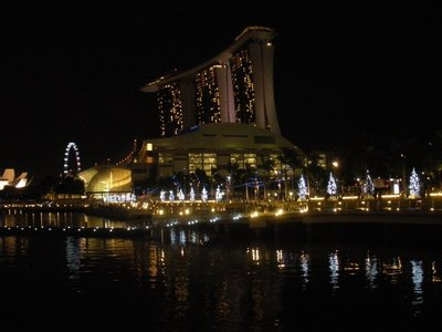 Marina Bay Sands at Night... love it