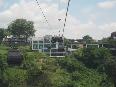 3-15.12 Cable car ride to Mt. Faber