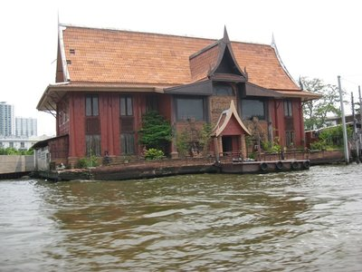 3-19.96 Teak house on river