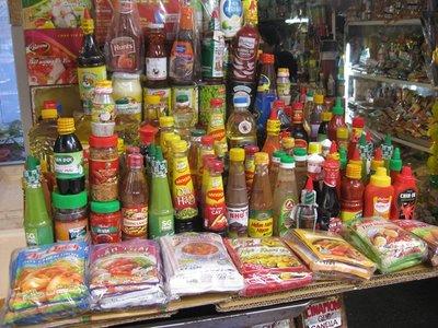 3-26.36 Hot sauces, anyone