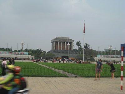 3-26.3 Ho Chi Minh's mausoleum, Hanoi