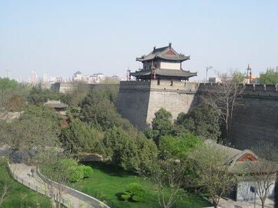 3-31. 24 Xian city wall