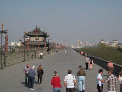 3-31. 29 Xian city wall