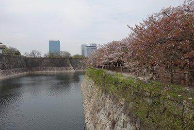 4-12 (29)  Osaka Castle moat