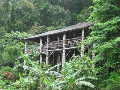 4-23 (58) Orang Ulu house