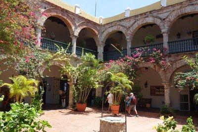 6-27r (22) Monastery courtyard