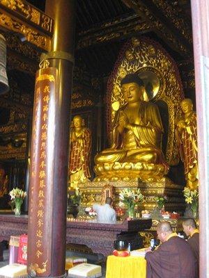 4-2.7 Buddha & monks chanting