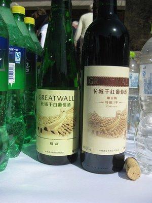 4-7.23 Great Wall wine