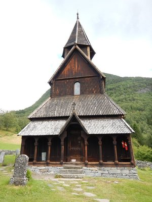 Urnes Stave Church from 1129 is oldest in Norway and a UNESCO World Heritage Site