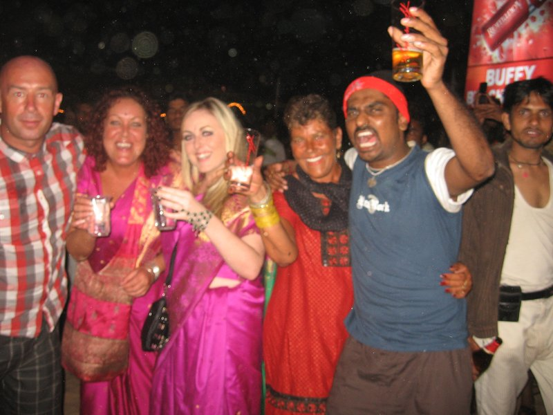 New year celebrations in Goa