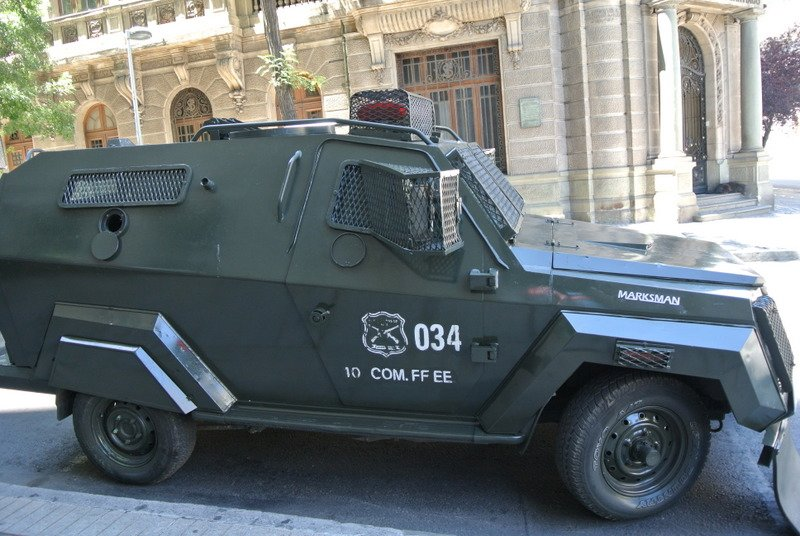 Were the Chilean popo in the last Batman film?