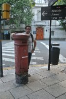 Woz and a English/Argentine postbox