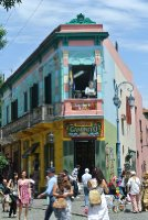 Colourful Corner in La Boca