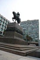 Gral. Artigas' statue