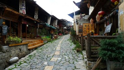 Pursuing My Dream Shangri-La With Passion: Shangri-La ancient town