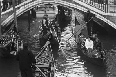 Busy canal