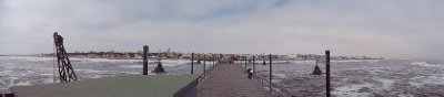 Vista embarcadero Swakopmund