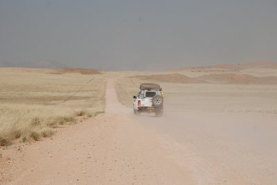 de camino a Sossuvlei