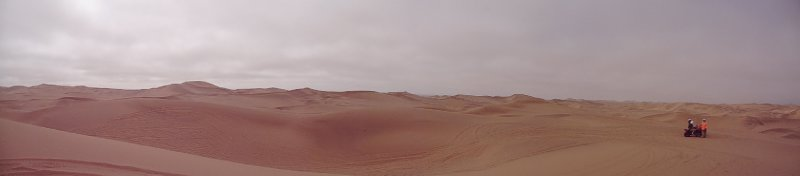 Desierto en Swakopmund