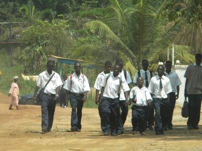 Kids in Ganta