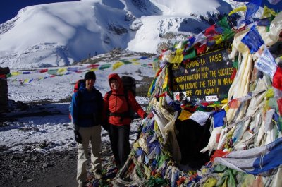 23 October 2011 - On the Thorung La (5416m) for the second time