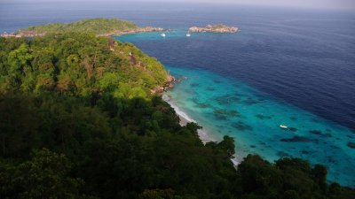 A viewpoint in the Similans