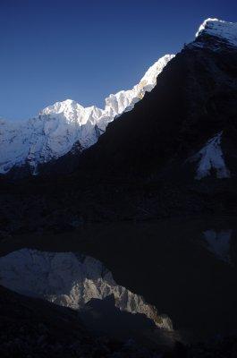 Ganesh Himal Base Camp at Dawn