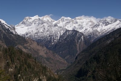 Manaslu from the Annapurna Circuit