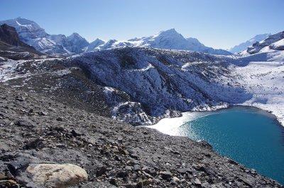 Ice Lake at the Thorung La