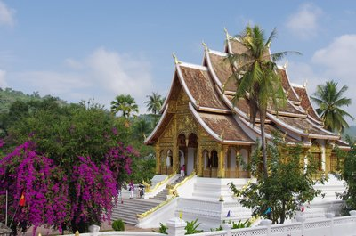 The Royal Palace Museum in Luang Prabang - what you might call high wattage